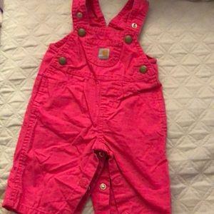 Carhartt baby overalls